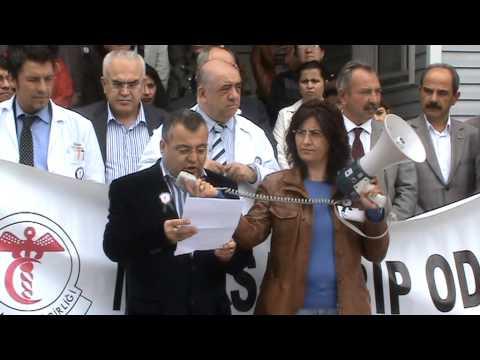 Salihli'de Sağlık Çalışanları İş Bıraktı - Sektör Gazetesi