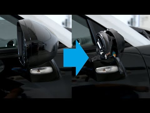 Peugeot RCZ Mirror cover removal