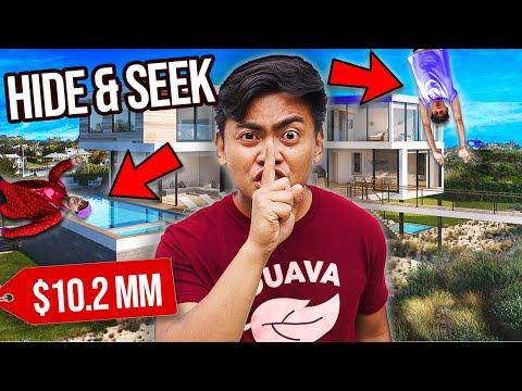 Extreme HIDE n SEEK in a $10,000 Mansion -  Challenge