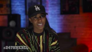 Angel Haze - I'm A Great Cook, Kick Ass In Video Games, My List Of Underrated MCs (247HH Exclusive)