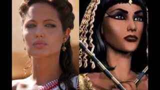 ANGELINA JOLIE Cast To Play Cleopatra -- Could This Be Her Last Role??