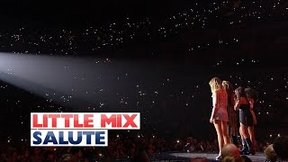 Little Mix   'Salute' (Live At The Jingle Bell Ball 2015)