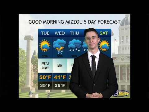 Five Day Weather Forecast - 2/24