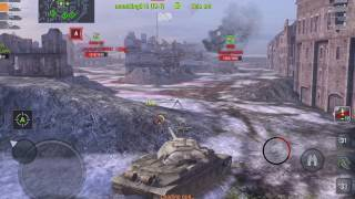 World of Tanks Blitz - Rating battles gameplay