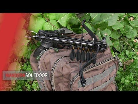 MK Pistolenarmbrust Ninja 80lbs | UNBOXING |SCHUSSTEST