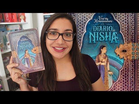 O Diário de Nisha por Veera Hiranandani - #VEDA 28 | Amiga da Leitora