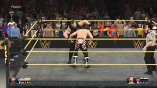 WWE 2K15 (PS4): CAW's: Custom Signatures & Finishers - Kevin Owens