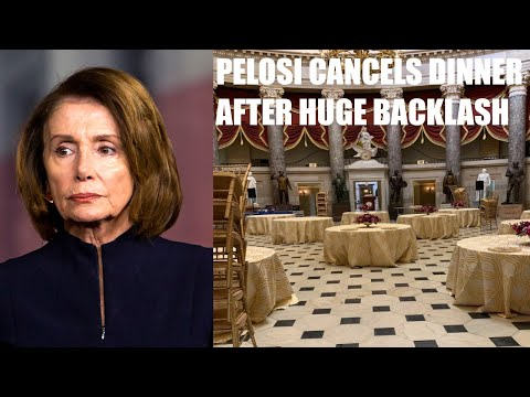 Nancy Pelosi CALLED OUT For Unsafe Dinner For Incoming House Members, Cancels Dinner After BACKLASH