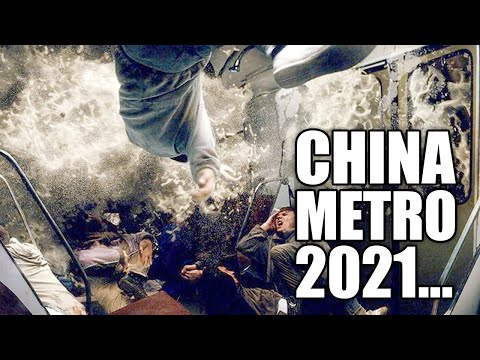 APOCALYPS in China! Mensen zitten vast! Ernstige overstromingen in de metro! Lord help!