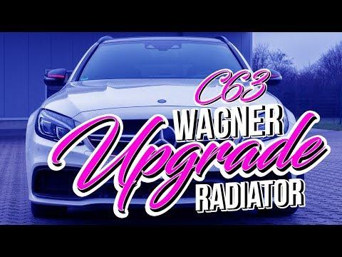 Wagner Tuning - Upgrade Ladeluft-Wasserkühler vom Mercedes C63(S) AMG