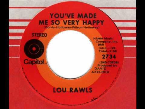 LOU RAWLS  You've made me so very happy