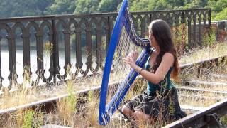 RIVER FLOWS IN YOU - Yiruma - harp / harpe / 하프