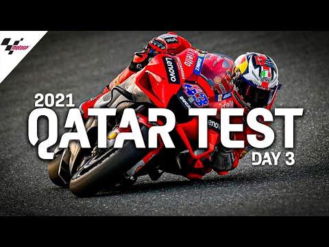 MotoGP 2021カタールテスト 3日目のハイライト動画
