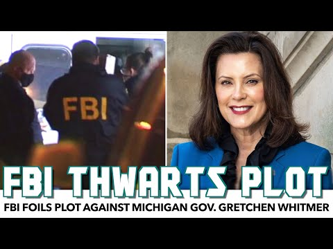 FBI Foils Plot Against Michigan Gov. Gretchen Whitmer