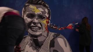 Vlog April 24 2017 || Rio Olympic Mural || Marissa Papaconstantinou