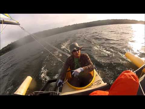 WindRider WR17 Boarding and Tacking - смотреть онлайн на Hah