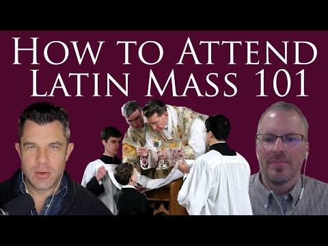 How to attend Traditional Latin Mass 101 - Step by Step (Dr Marshall #231)
