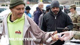 National Guardsmen serve meals to their community | Militarykind