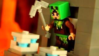 Мультфильм Майнкрафт 5-я серия Мультики Лего - Lego Minecraft Stop Motion Animation