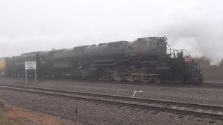 Union Pacific 4014 At Sherman Hill