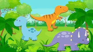 Counting Dinosaurs!   Counting Game For Toddlers!