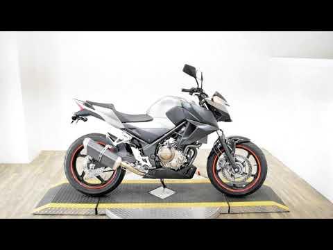 2017 Honda CB300F ABS in Wauconda, Illinois - Video 1