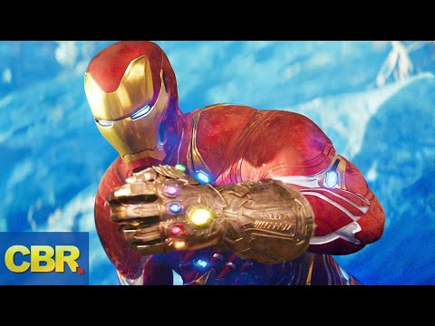Tony Stark May Have An Infinity Gauntlet In Marvel