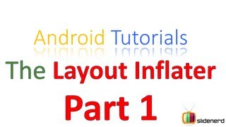 #76 Android LayoutInflater Part 1: Android Tutorial For Beginners [HD 1080p]