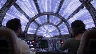 Millennium Falcon: Smugglers Run Attraction Teaser! Star Wars Galaxy