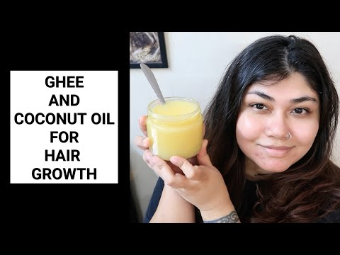Ghee And Coconut Oil For Hair | Bharti Puri