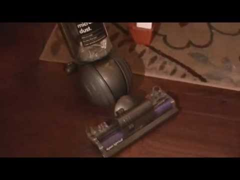 Dyson Light Ball Multi Floor Bagless Upright In Action!!!
