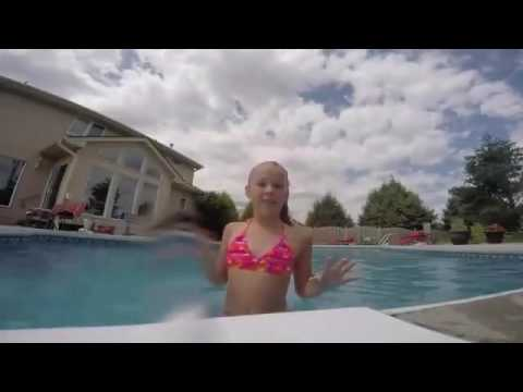 Jojo Siwa at the pool