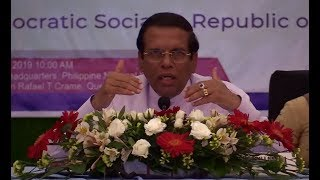 Sirisena invites Philippines' drug war experts to help Sri Lanka