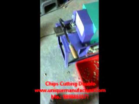 Chips Cutting Double Supari Cutting Machine