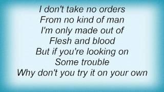 Danzig - Trouble Lyrics