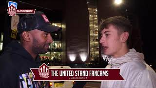 Fred Was Everywhere Tonight| Fan Cam | Man Utd 2 - Leicester 1|