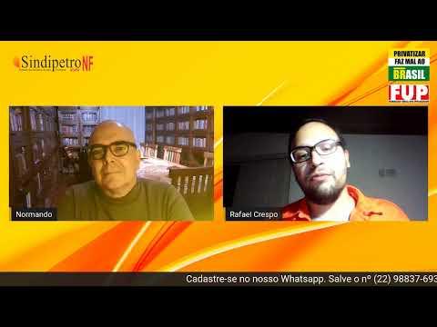 Live #PetrobrasFica com Normando Rodrigues