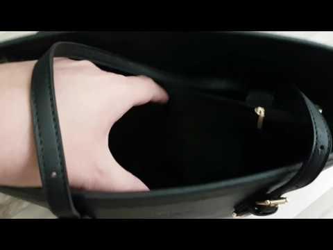LI&HI Damen Handtasche Schwarz Marken Handtaschen Elegant Taschen Shopper Reissverschluss