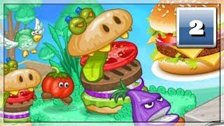 Jak Walczyć z Hamburgerami? Zobaczcie sami! Darmowe Gry Online: Papa Louie 2 | #2