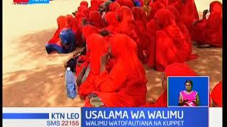 Baadhi ya walimu kutoka kaunti ya Wajir wamesusia kazi kufuatia kuuwawa kwa wenzao wawili