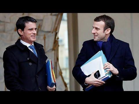 Γαλλία: Στήριξη Βαλς στην υποψηφιότητα Μακρόν