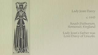 Lady Joan Darcy (1300-1359)