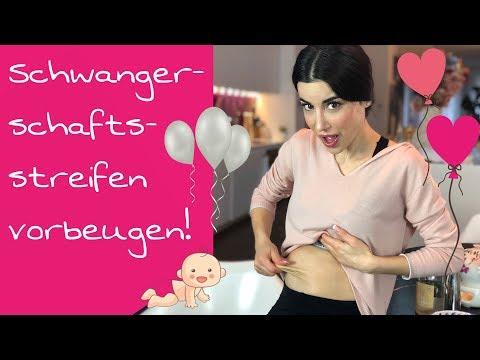 Schwangerschaftsstreifen vorbeugen! Tipps & Tricks