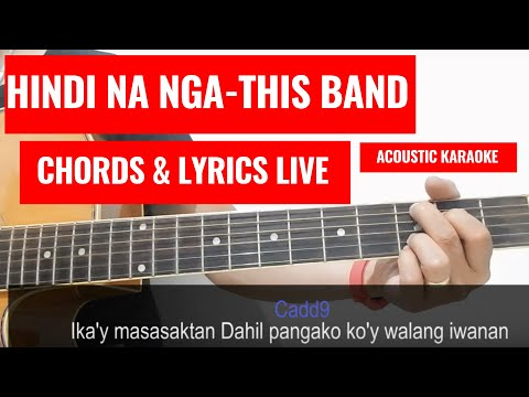 Hindi Na Nga - This Band (Guitar Tutorial) - Ask Ken - Video
