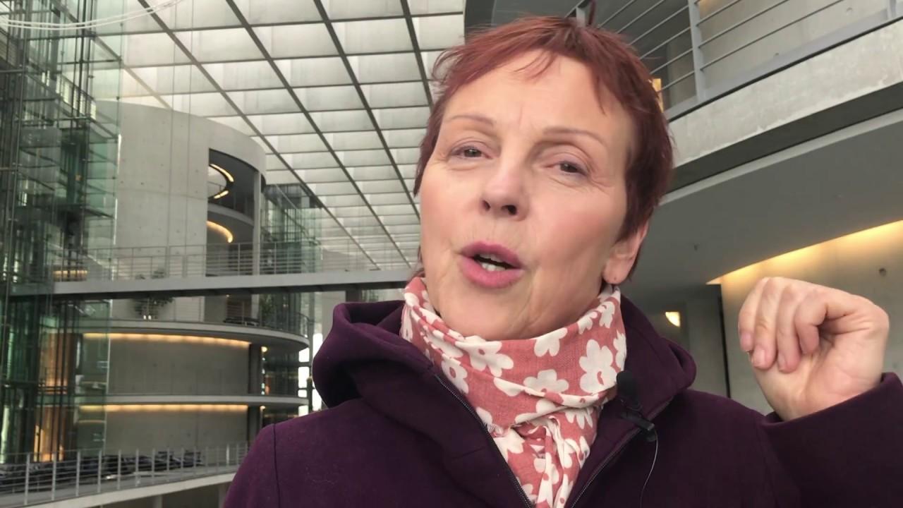 Rede von Sabine Leidig am 21. April 2018 im Deutschen Bundestag zum Thema Kein Preis für Ausbeutung und Überwachung! Protest gegen Springer Award für Bezos!