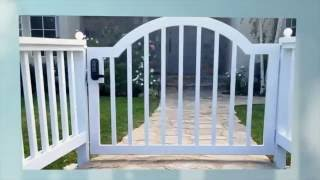 """""""The Americana"""" Gate and Fence 