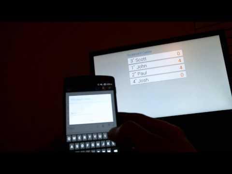 Video of Scorecard Keeper