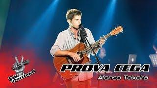 "Afonso Teixeira – ""Shape of You"" | Prova Cega | The Voice Portugal"