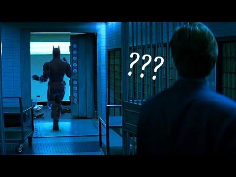 batman but you can see him running away