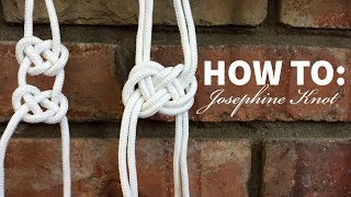 Macrame 101: Josephine Knot Tutorial